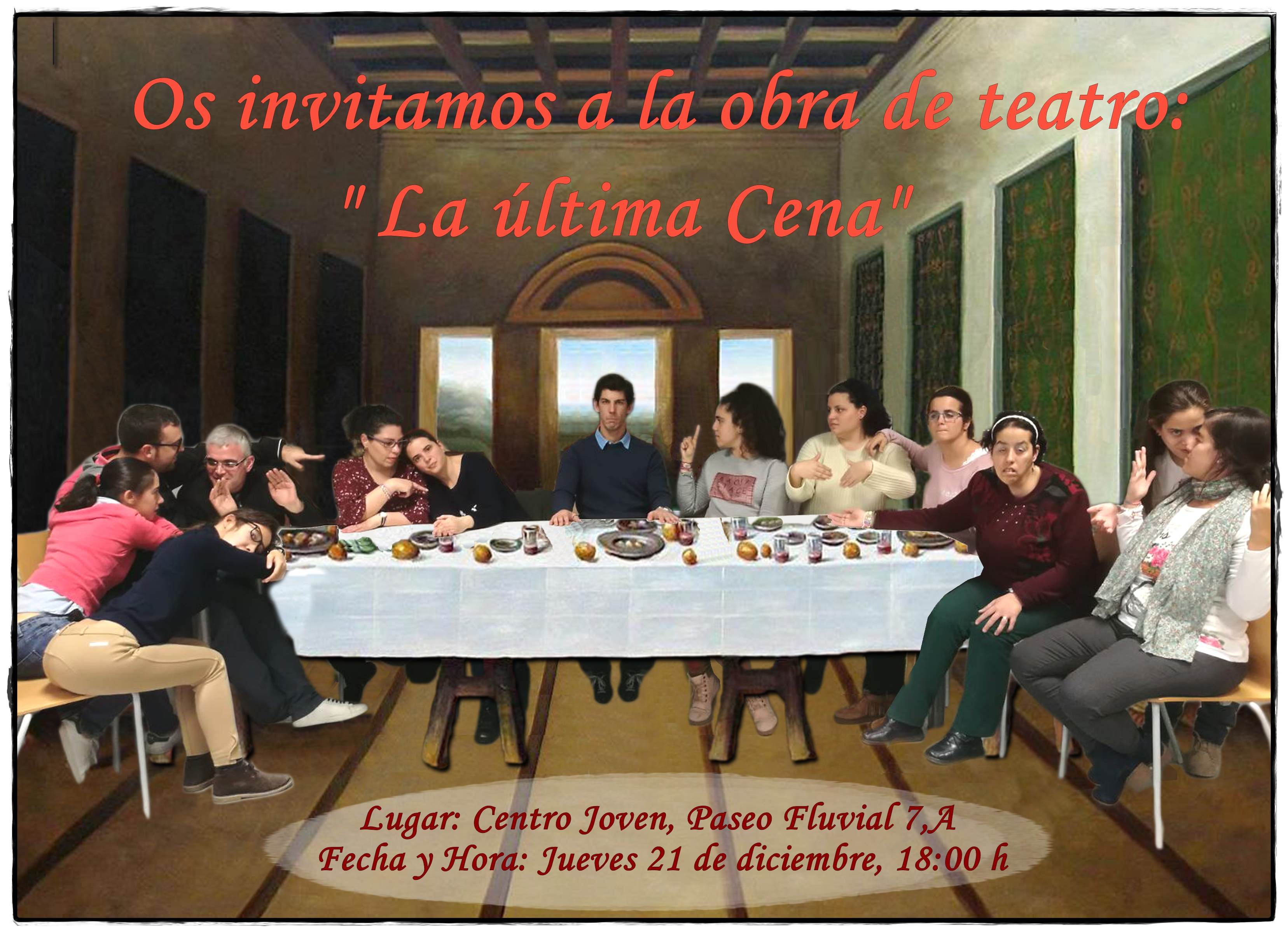 Obra de teatro: La última cena