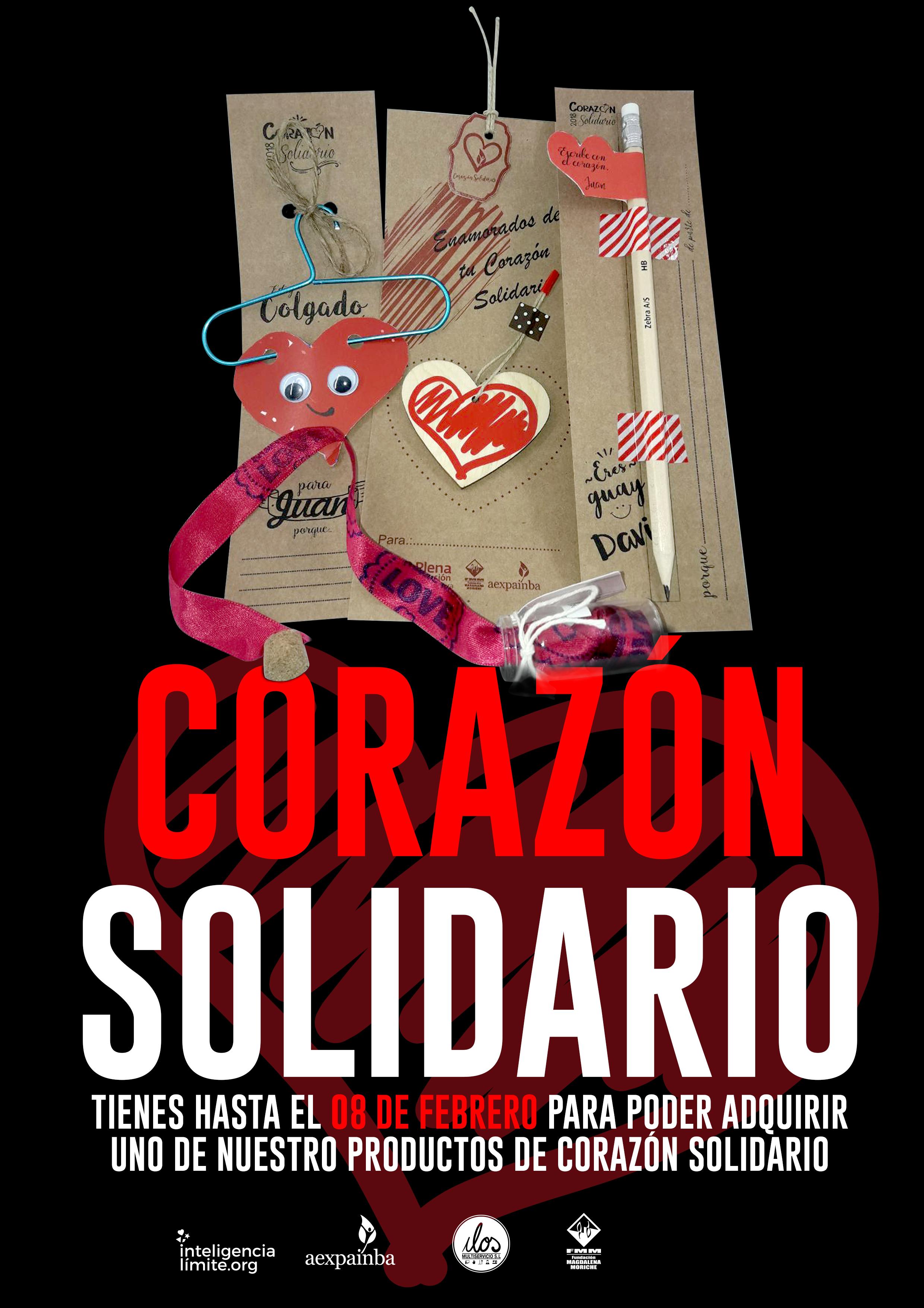 Enamorados de tu corazón solidario. 14 de Febrero, San Valentín