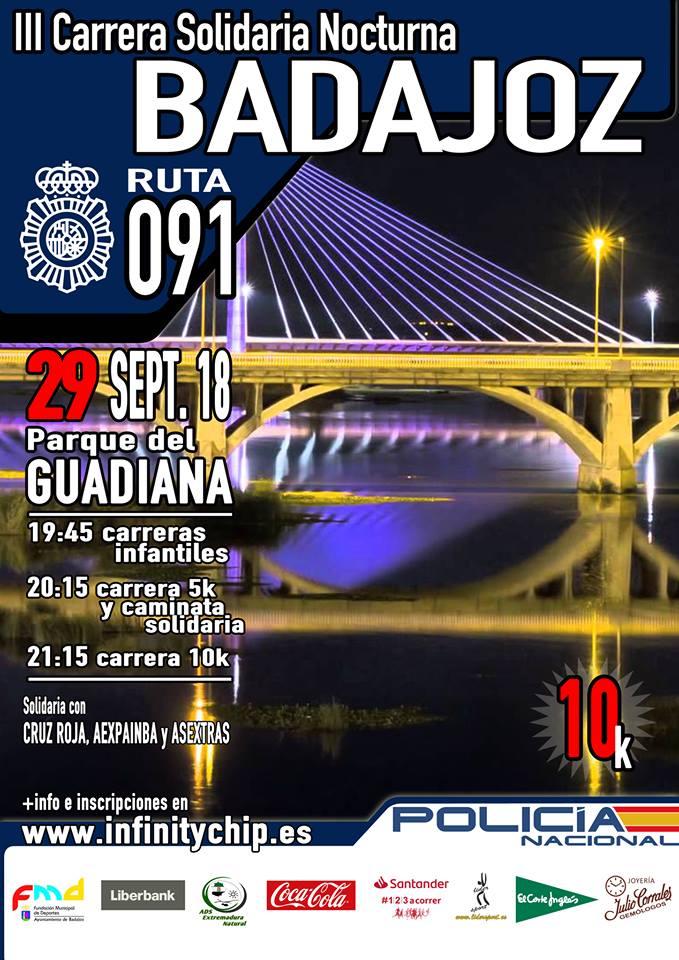 III Carrera Solidaria Nocturna: Ruta 091